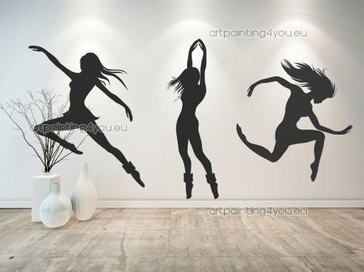 Muurstickers Muziek & Dans Moderne Dans