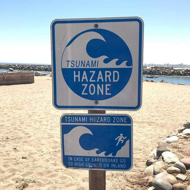 In Santa Cruz we live near #earthquake faults next to Great