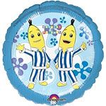 18 Bananas in Pyjamas Foil Balloon each - Suitable for helium inflation only please see our range of disposable