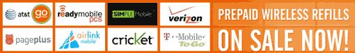 Prepaid Wireless Refill PINs and Top-Ups