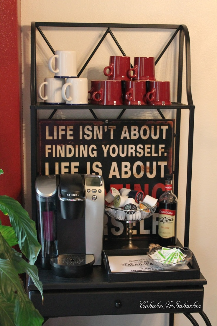 Coffee station coffee station pinterest
