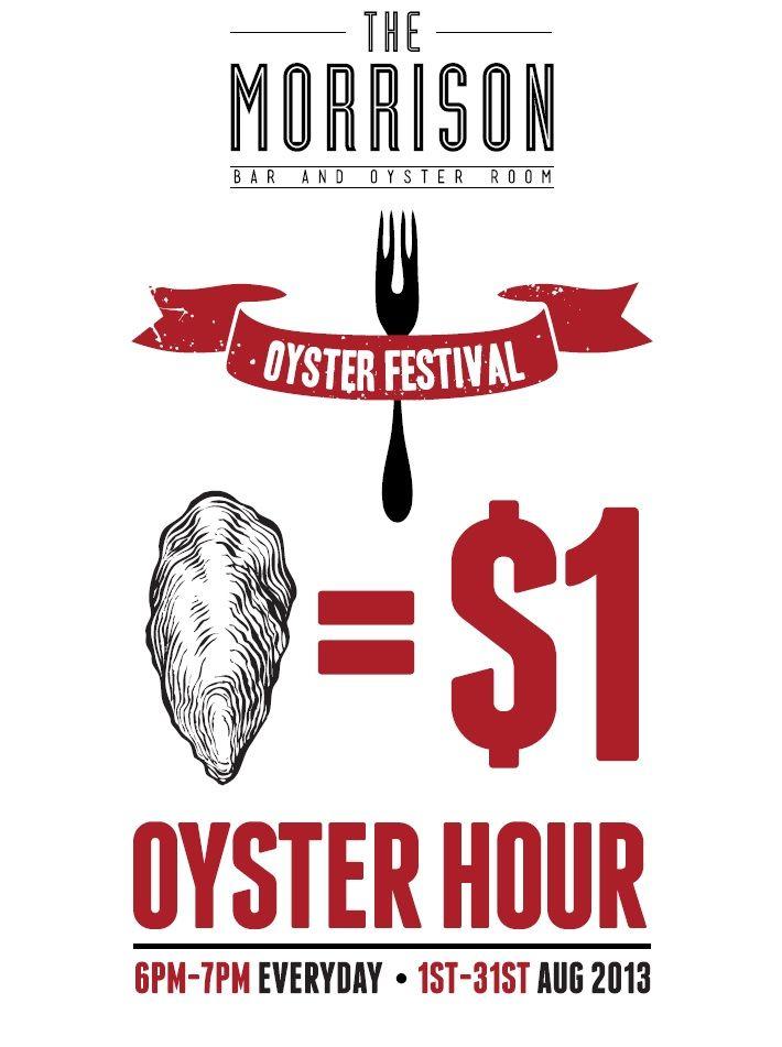 The Morrison   Oyster Festival 2013. August.