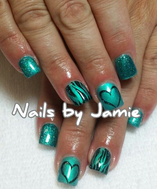 Animal Print Nails  Follow Nails by Jamie on Instagram! NailPro97401