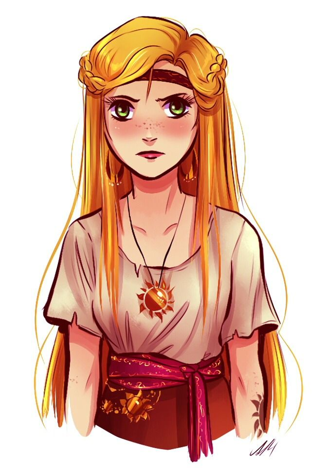"""Pirate"" version of Rapunzel from ""Tangled"" - Art by andythelemon. Character Design Illustration Inspiration Concept Art"