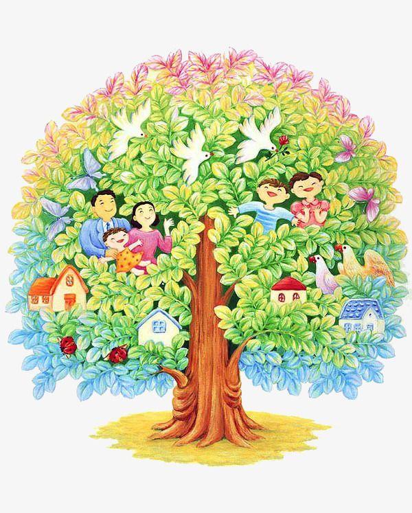 для картинки деревьев для семейного древа весь