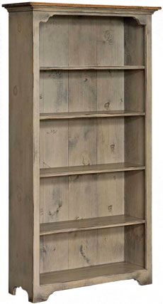 Kloter Farms - Sheds, Gazebos, Garages, Swingsets, Dining, Living, Bedroom Furniture CT, MA, RI: Colonial Pine Large Bookcase: Stained