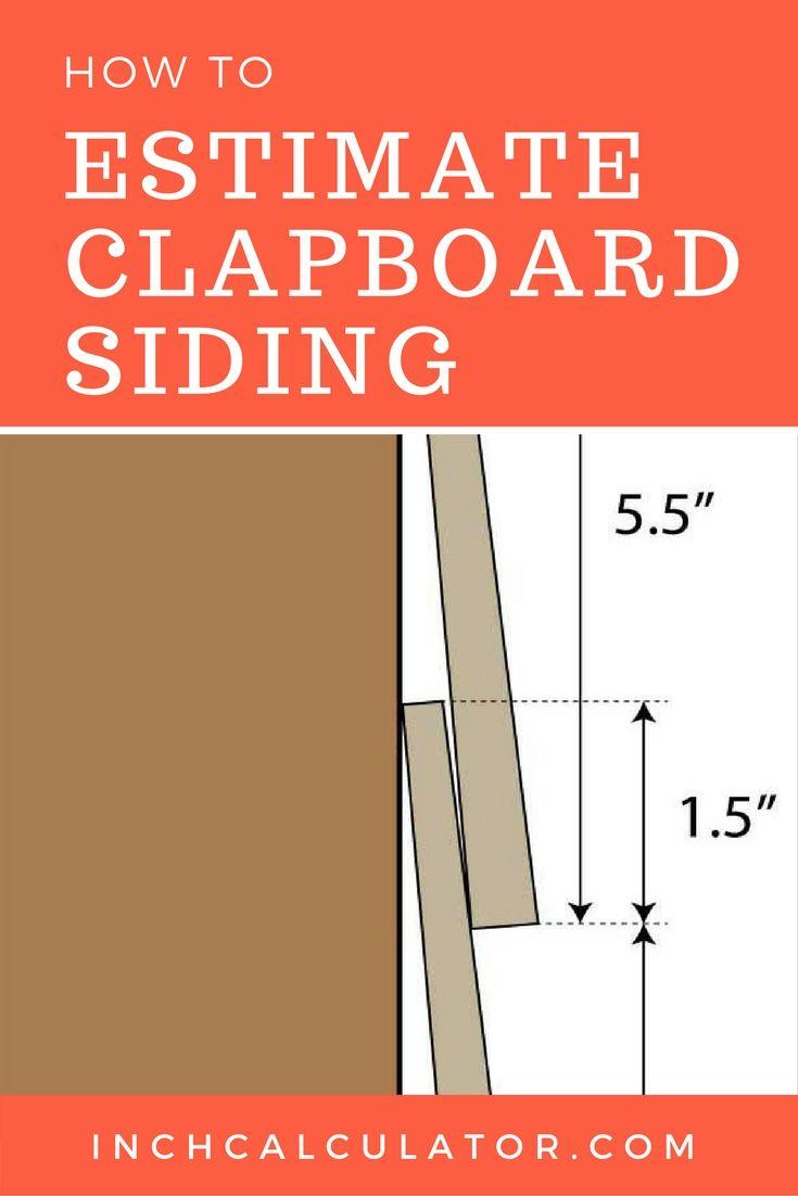 Clapboard And Lap Board Siding Calculator Inch Calculator Clapboard Siding Clapboard Hardie Board Siding