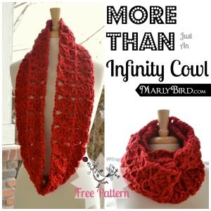 More Than Just An Infinity Cowl Free Pattern