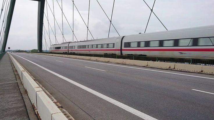 Baureihe 605 - Die ICE-TD auf der Vogelfluglinie (Blauer ICE, Fehmarnsundbrücke, Fähre), 2016, 14min