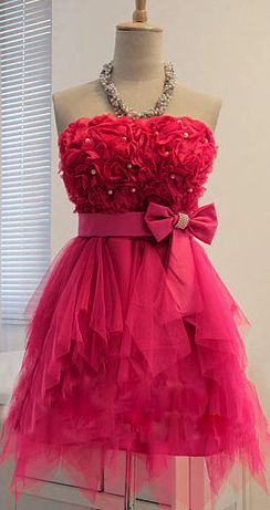 Pink party dress #DressUpPartyDown