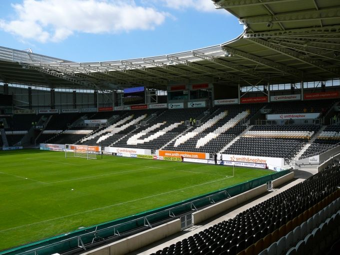Go to Hull.  LOL.  I want to go see the Tigers roar!!  Hull City - KC Stadium (North Stand)