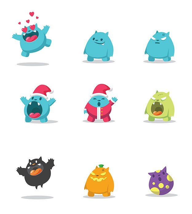 Finalist for best art and illustration design in the 2016 99awards. Cute mascot characters by RaidenDesign