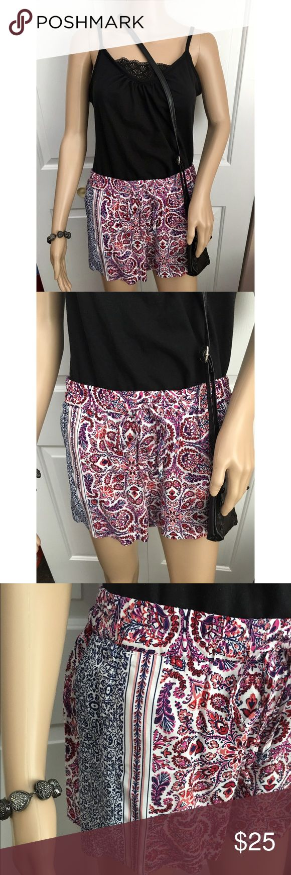 "NWT BeBop Paisley Print Boho Shorts! - Jr. Small Never worn, purchased at a department store called ""Peebles."" 100% rayon, super comfy and flowy material! Perfect for the beach. Smoke and pet free home. No trades. ❤️🎀⭐️ BeBop Shorts"