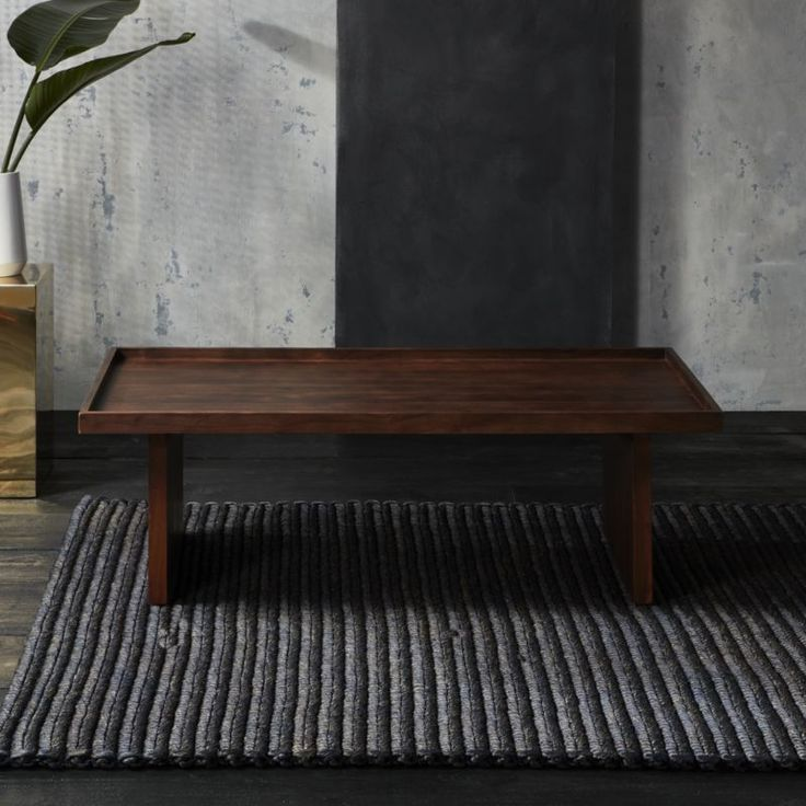 Shop bento coffee table. Designer Ross Cassidy reimagines the Japanese serving set in functional furniture form.