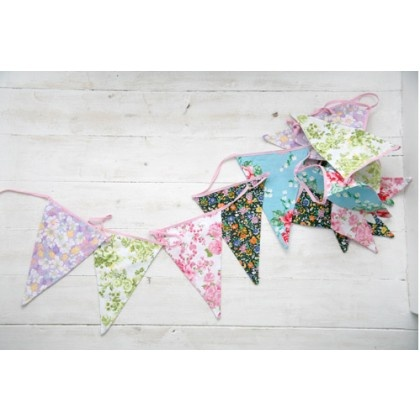 We will be having bunting
