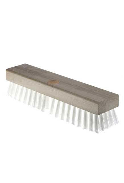 Acid resistant fibre deck brush: Scrubbing deck brush