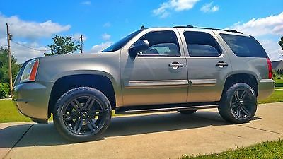 cool 2007 GMC Yukon Heated Leather Woodgrain 20 Rims Remote Start Tow - For Sale