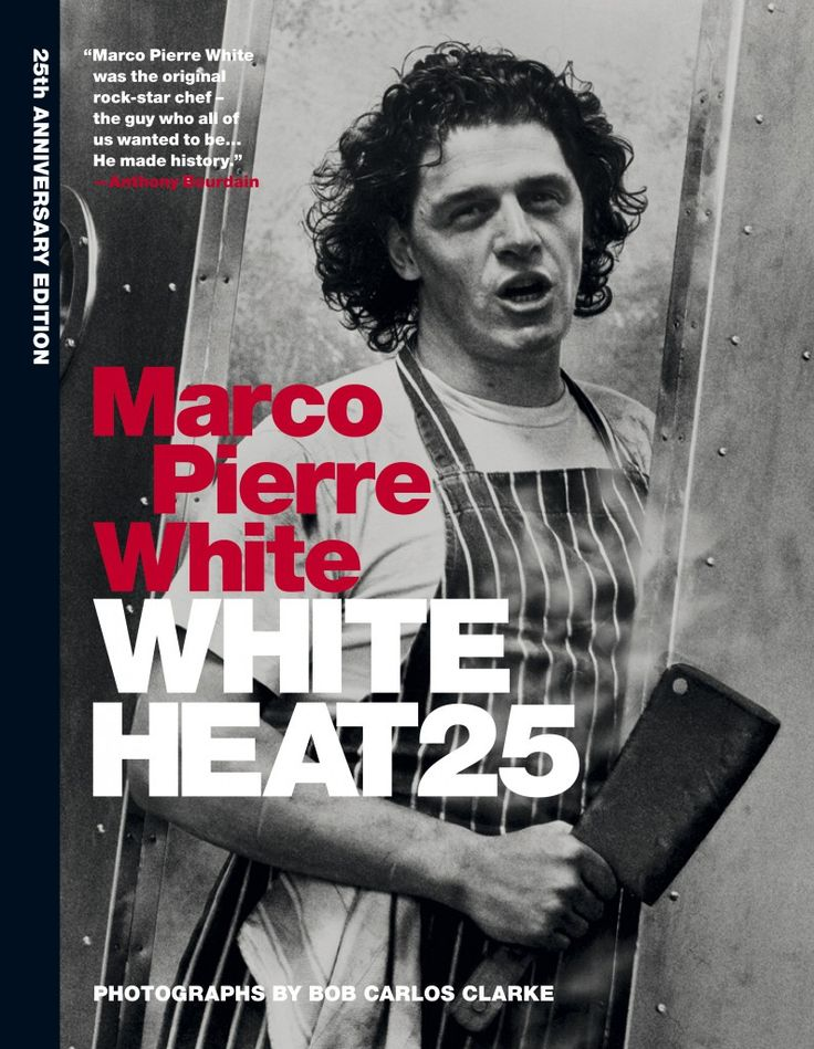 White Heat cookbook by legend chef Marco Pierre White is being re-released, read all about it at äteriet.com - its about food.