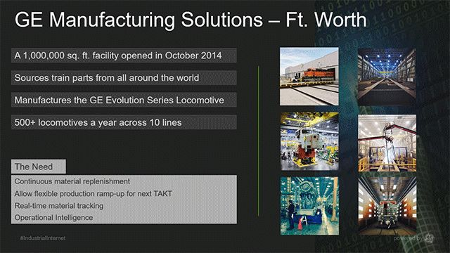 Smart Locomotive Manufacturing: Material Tracking with Predix and RFID Tags. The blog post explores how using #IoT solutions and #RFID tags can help to identify operational bottlenecks and improve legacy processes. Find out the results and lessons learned by GE in the course of optimizing transportation flows and enabling smart locomotive manufacturing. | #Predix #IIoT