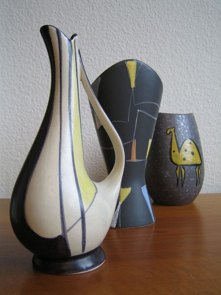 mid century german pottery