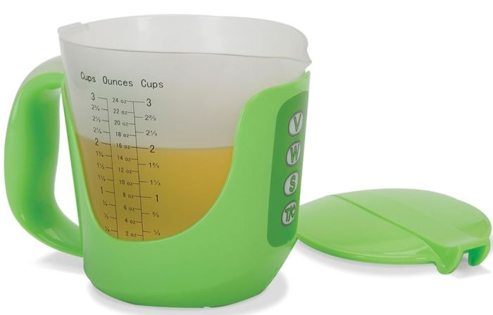 The Talking Measuring Cup