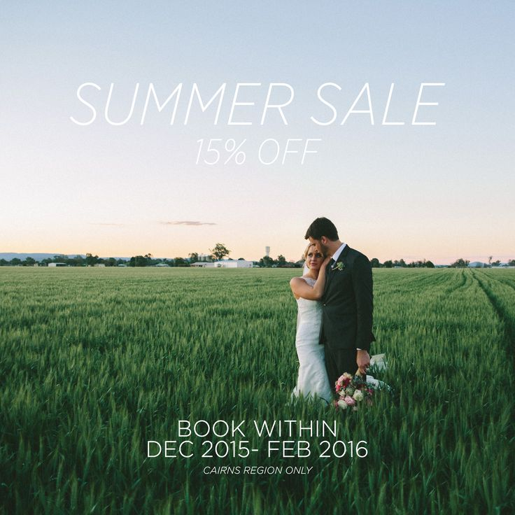 Need Wedding Videography? Have 15% off when you book between the months of Dec 2015- Feb 2016! Just head to the website www.emmfilms.com