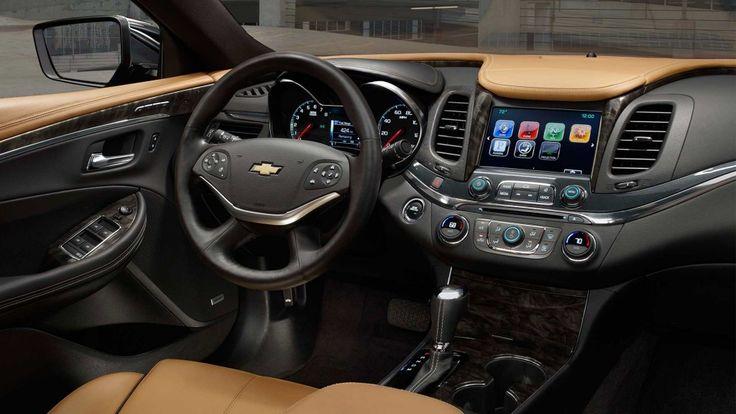 2016 Impala full-size cars Jet Black Mojave interior