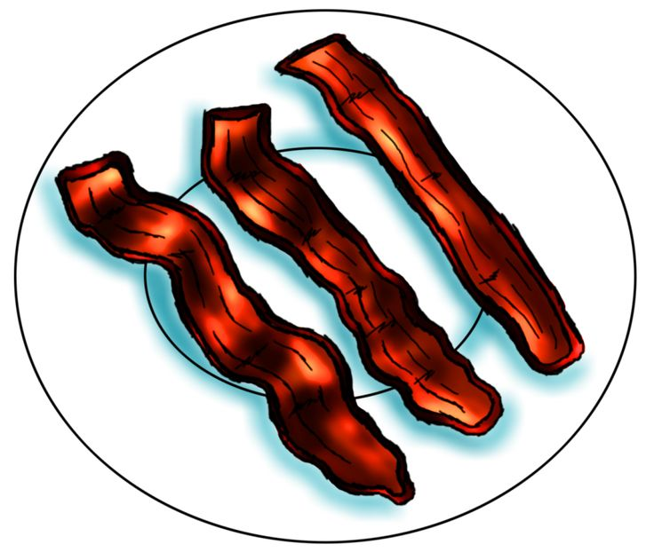 Bacon Clip Art Background Food backgrounds and clipart on pinterest ...