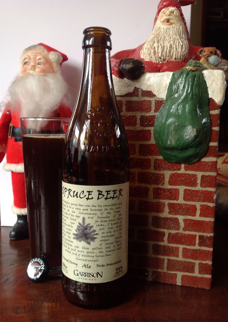 Spruce Beer, from Garrison.