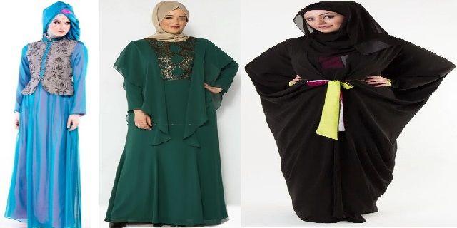 Model Baju Busana Muslim untuk Orang Gemuk