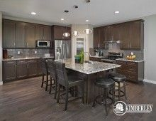 Kitchen. Sapphire in Creekwood Chappelle.