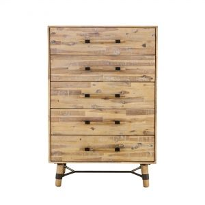 Hudson 5 Drawer Chest (VX-1028-01) by Moes Home