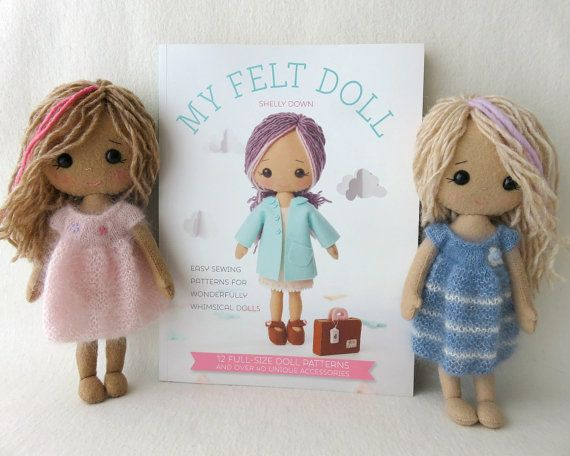 17 best images about to make gingermelon dolls on for Felt dress up doll template