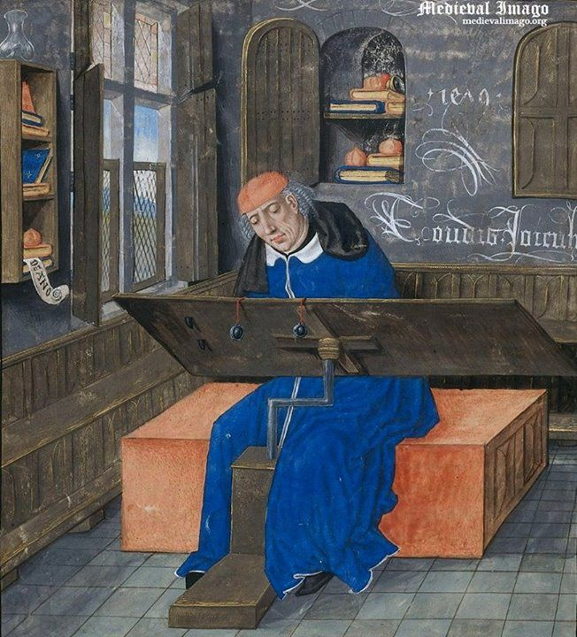 A scribe, Netherlands, 1479, uncredited source