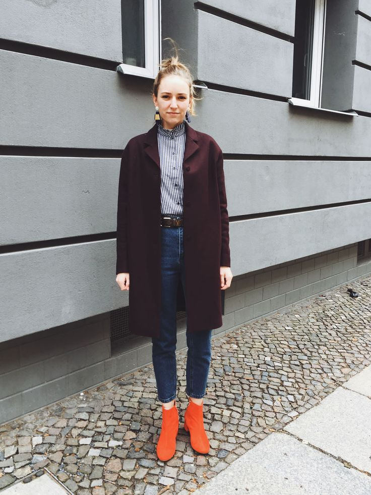 Outfit // Mit Popeye-Gedächtnisbluse, Mom Jeans & roten Boots | Jane Wayne News