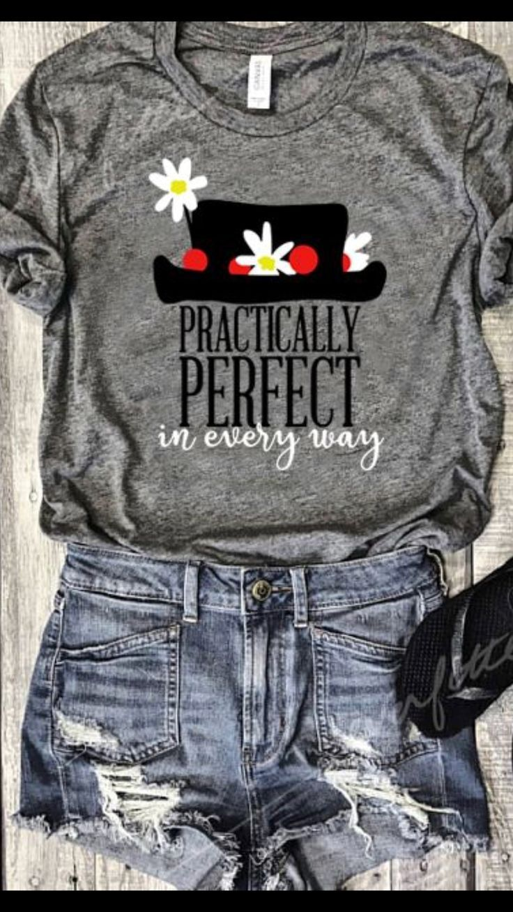 b9cf584be Disney Mary Poppins Practically Perfect T-shirt Clothing