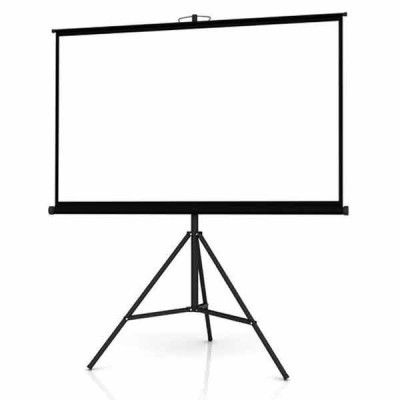 72 X 72 MANUAL PROJECTION SCREEN WITH TRIPOD STAND in 2020