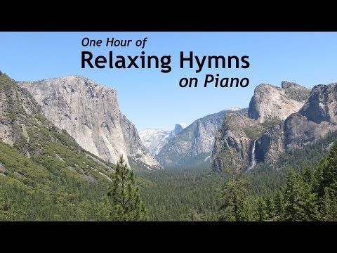 Relaxing Hymns On Piano - A Whole Hour of Spiritual Music - YouTube