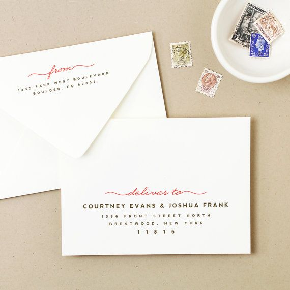 INSTANT DOWNLOAD Printable Wedding Envelope by SwellAndGrand