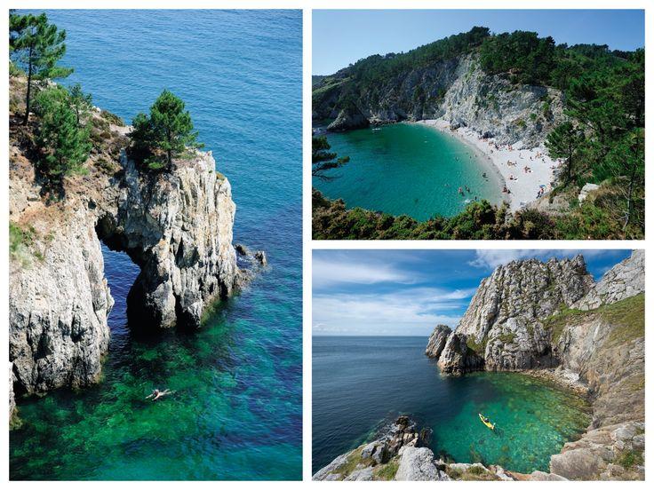 La presqu'île de Crozon, un paradis sur Terre avec ses eaux turquoise, petites criques, villages de charme... | Finistère | Bretagne | #myfinistere