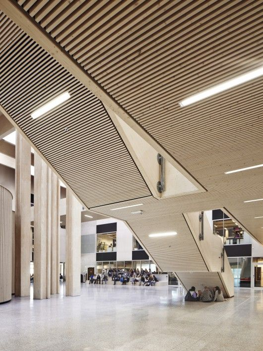 Nord-Østerdal High School / Longva arkitekter | © Ivan Brodey
