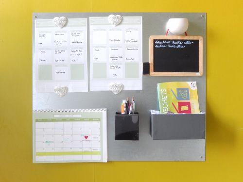 astuces pour gérer son temps en famille+ centre d'information familiale+menu+calendrier+ semainier à imprimer