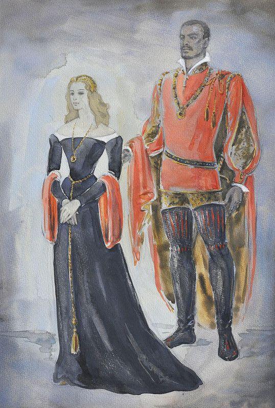 Выставка эскизов и костюмов, посвященная 100-летию О. С. Кручининой.: la_gatta_ciara