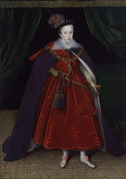 Henry, Prince of Wales by Marcus Gheeraerts the Younger, c. 1603