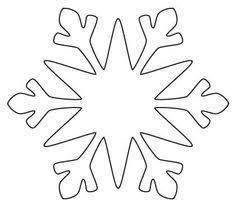 how to draw an easy cartoon snowflake