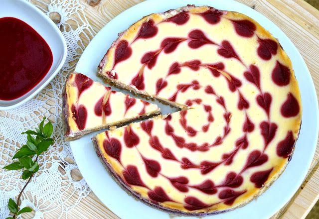 crustycorner: Malinový cheesecake s bílou čokoládou