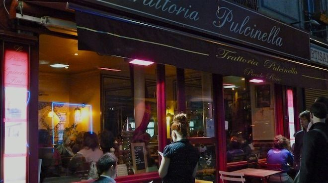 La Trattoria Pulcinella | 2 rue Eugène Sue 18e | Restaurants and cafés | Time Out Paris