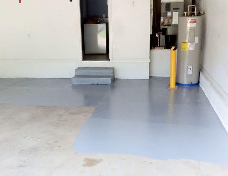 how to repair garage floor cracks and pitting