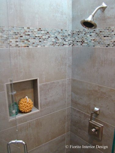 38 best images about bathroom on pinterest mosaic tiles for Mosaic tile designs for bathrooms