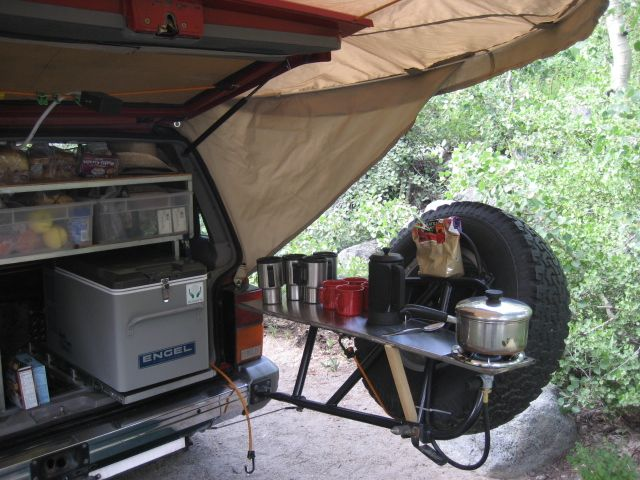 26 best images about camping 4x4 set up on pinterest for Kitchen setup ideas
